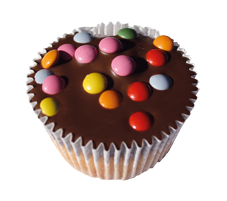 Cup Cake `s Vollmilch Glasur